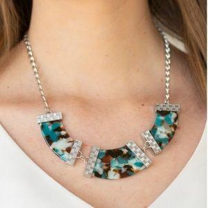 Haute Blooded Blue Necklace Set